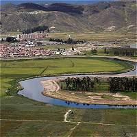 Trabajos de limpieza del río Bogotá irán hasta Cota