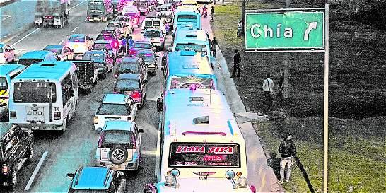 Nueva restricción para el tráfico pesado en Chía