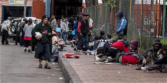Bogotá duplicará la inversión en habitantes de calle