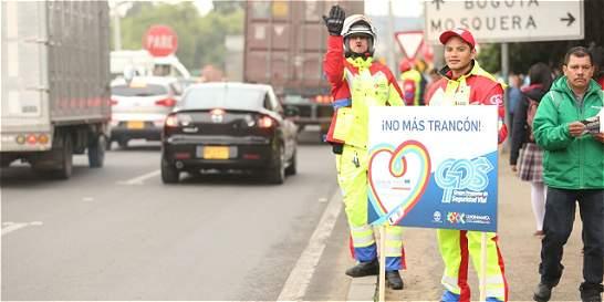 Grupo especial ayudará a mejorar la movilidad en Cundinamarca