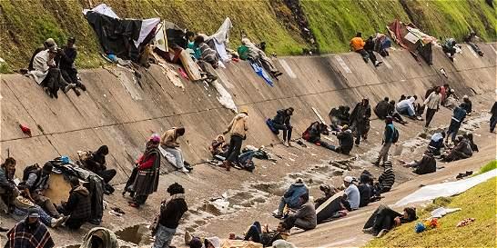 Nación trabajará en el lío de habitantes de calle en Bogotá