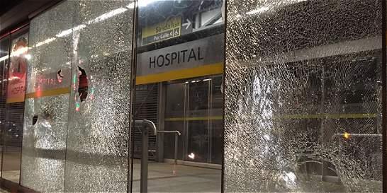 TransMilenio, otra vez víctima de ataque por habitantes de la calle