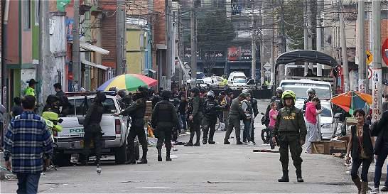 Alivio en el barrio San Bernardo tras operativo de la Policía