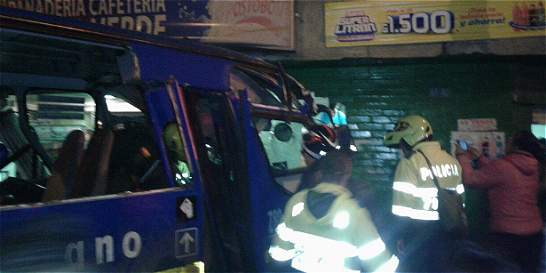 Al menos 21 heridos dejó el accidente de un bus del SITP en el sur