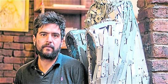 El artista que quiere las armas de las Farc para crear una escultura