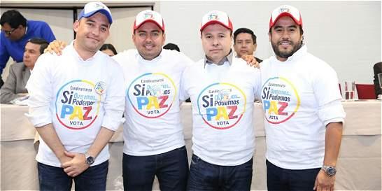 Gobernación lanzó grupo promotor por el Sí al plebiscito