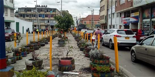 Comunidad de San Andresito recuperó separador de la calle 11