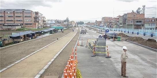 Construcción de la Avenida Bosa está en un 32 por ciento