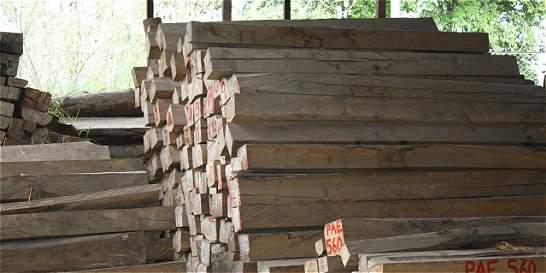 Así funciona el tráfico ilegal de madera que se incauta en Bogotá