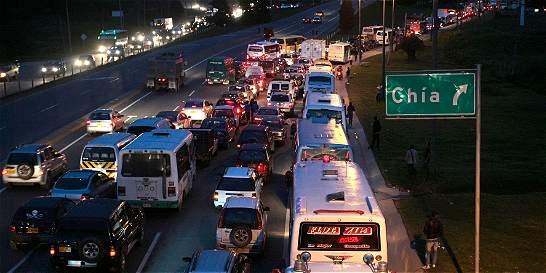 Restricción a carros de carga en Chía empieza este lunes