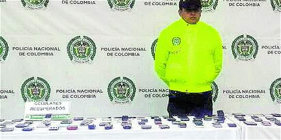 Policía recuperó celulares hurtados en Bogotá