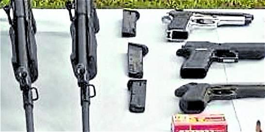 Cae red de tráfico de armas en la localidad de Kennedy