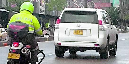 'Las normas de tránsito son para todos': Bocarejo
