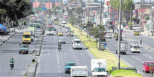 Avenida Boyacá, una de las más vías con más accidentalidad en Bogotá