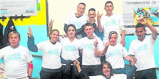 Exhabitantes de calle de Bogotá reciben reconocimiento en Los Mártires