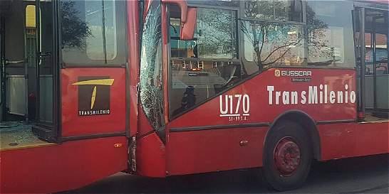 Dos accidentes de tránsito en Bogotá dejaron 13 heridos