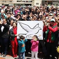 Conozca los cierres viales por el evento de paz en Bogotá