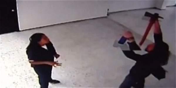 Suboficial retirado amenazó con hacha a personas en dispensario militar