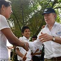 Árbol de la paz será sembrado en Soacha por el presidente Santos