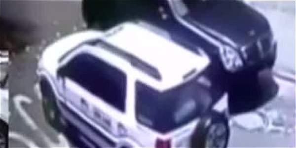 Delincuentes en carros de servicio especial están robando las llantas de los carros