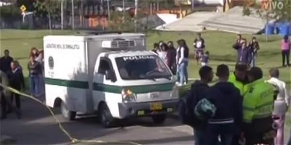 En una caneca al sur de Bogotá fue hallado el cuerpo de una mujer