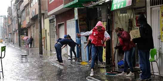 Arrancó la segunda temporada de lluvias en Bogotá