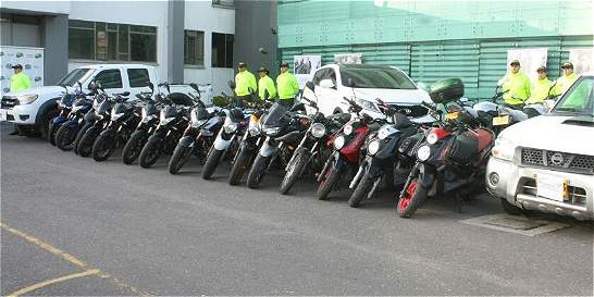 Policía de Cundinamarca recuperó 20 vehículos robados