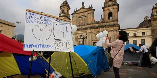 Jóvenes salieron otra vez pidiendo solución al conflicto