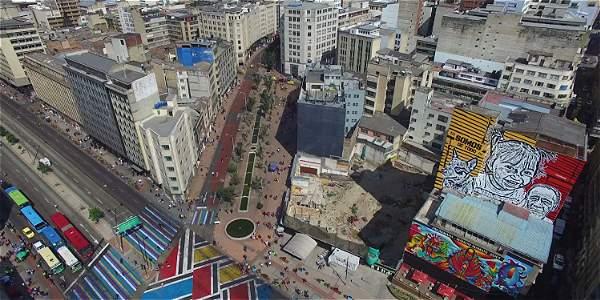 San Victorino es una de las zonas de renovación urbana con mayor impacto en Bogotá.