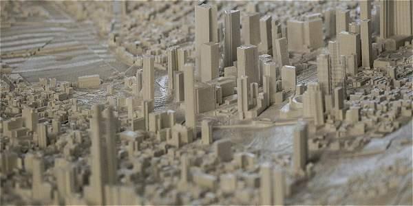 Bogotá tiene maqueta en 3D