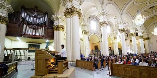El instrumento que trae música a la Catedral Primada