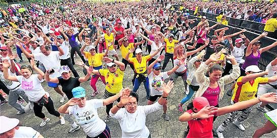 Bogotá busca romper récord Guinness de ejercicio en silla de ruedas