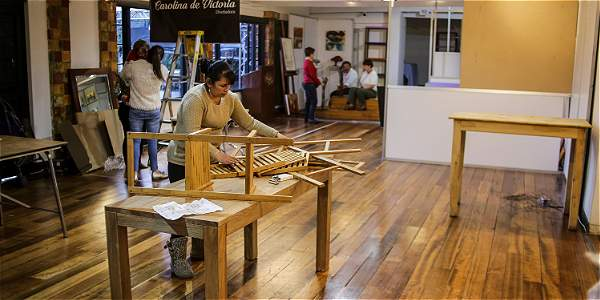 En el museo se instalaron 169 locales, con más de 100 variedades de productos de distintas empresas, y una plazoleta de comidas.