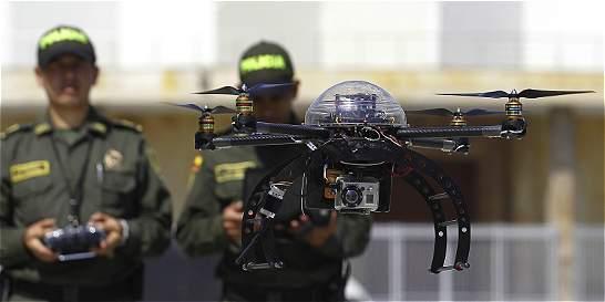 La Policía de Bogotá planea utilizar drones para la vigilancia