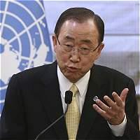 Ban Ki-Moon apadrinó tortuga gigante en Islas Galápagos