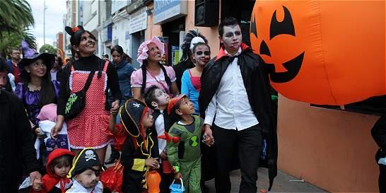 En Bogotá, menores de 16 años no podrán salir solos en Halloween