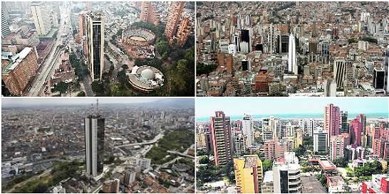 Soledad en Bogotá, crisis en Cali, progreso en Barranquilla y Medellín