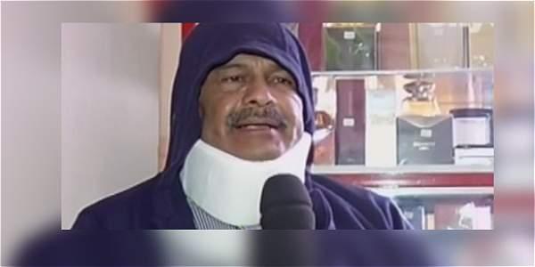 Hombre de 60 años fue lastimado por bultos de cartón que lanzaron desde un tercer piso