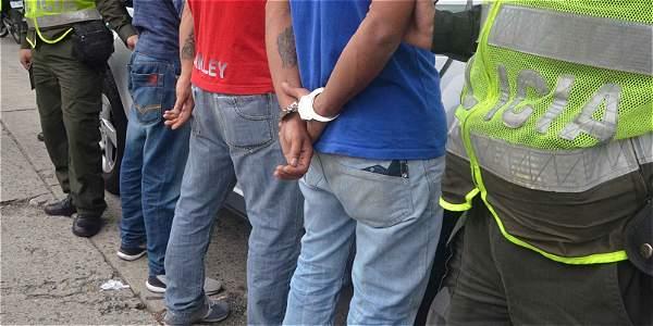 Detenidos integrantes de