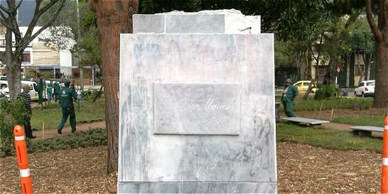 ¿En dónde paró el busto de Guillermo Marconi?