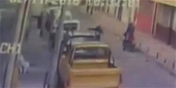 Hombre se salva de la muerte en intento de robo