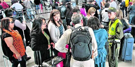 Aeropuerto El Dorado opera con restricciones