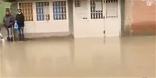 Emergencia en Soacha por inundaciones