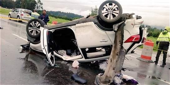 Programa Cómo Vamos alerta por accidentes viales en la Sabana