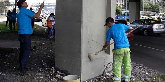 Bogotá se suma a la jornada nacional de limpieza del espacio público