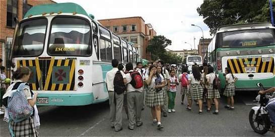 Rutas escolares en Bogotá tendrán carril preferencial