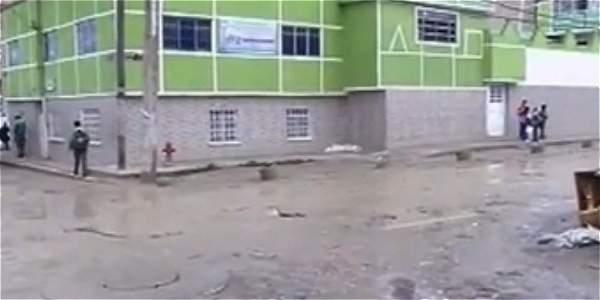 Estudiantes son asaltados por delincuentes al salir del colegio en Soacha