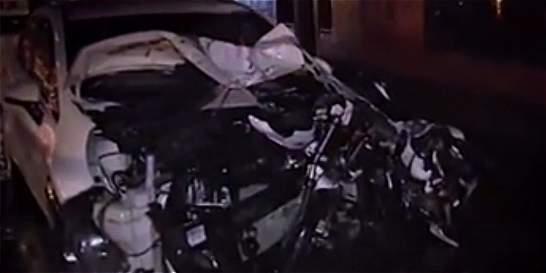 Policía con grado 1 de alcoholemia mató a 2 personas mientras conducía