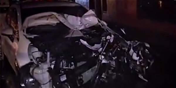 Policía, al parecer borracho, mató a dos personas por manejar en contravía en Usme