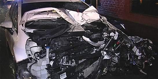 Un policía ebrio mató a motociclistas en Usme
